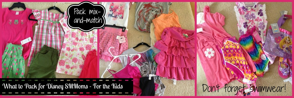 What to Pack for Disney SMMoms For the Kids