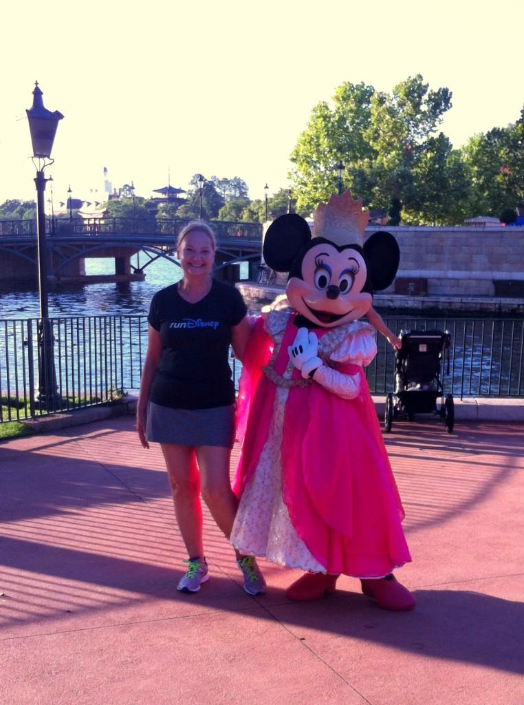 Blog Fun Run Me and Princess Minnie