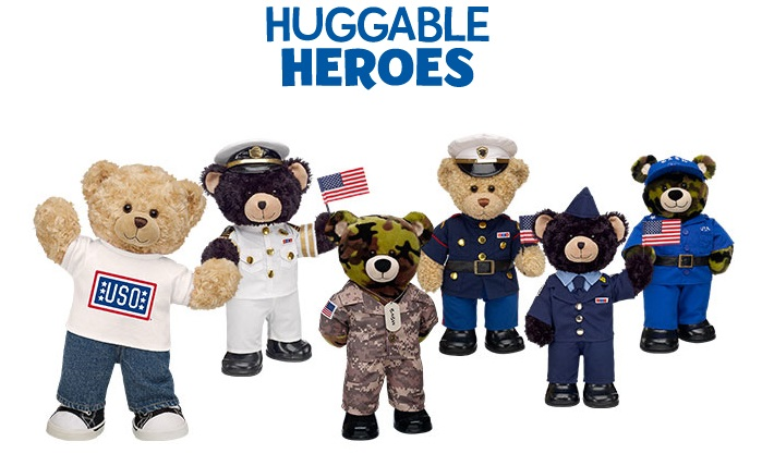 Build A Bear Military Bears