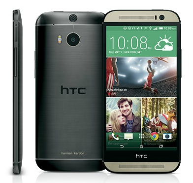 HTC One Harman Kardon Edition front back and side