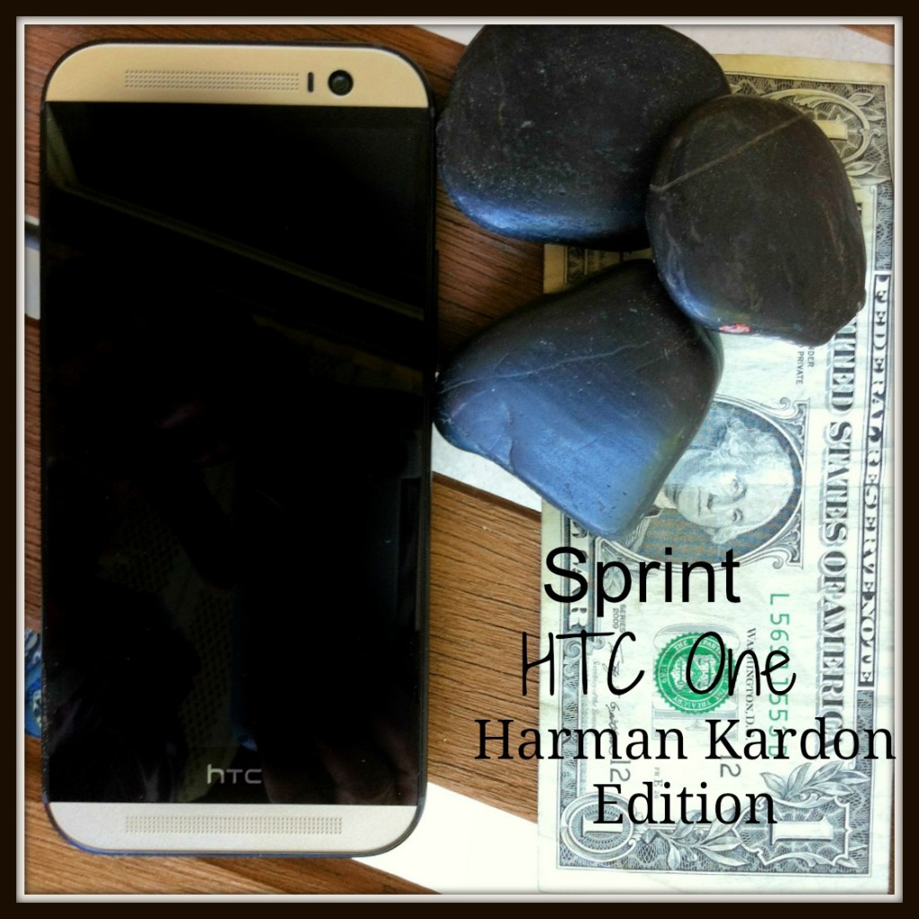 HTC One Harman Kardon Edition with Dollar