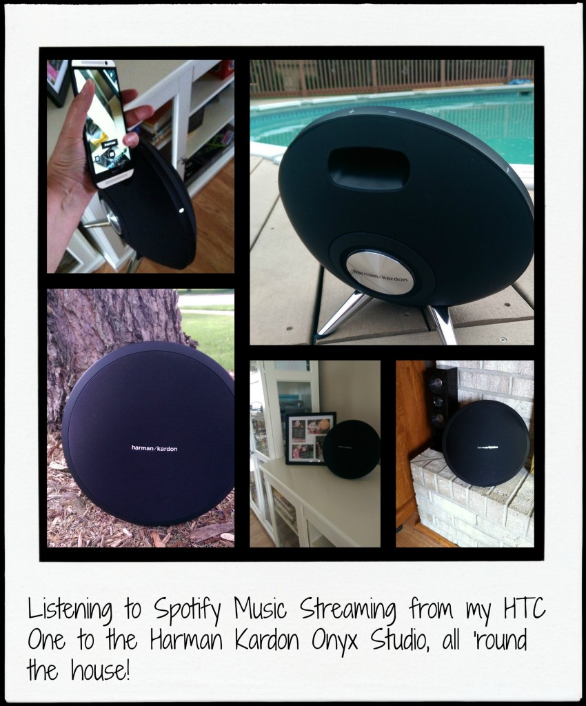 Onyx Studio by Harman Kardon HTC One All Around Collage 2