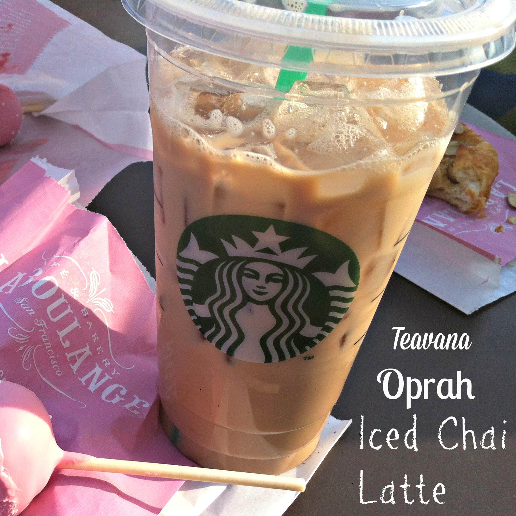 Starbucks Iced Chai Tea Latte