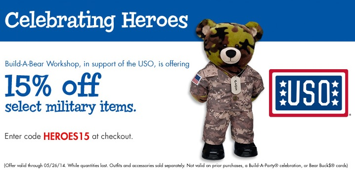 celebrating heroes build a bear
