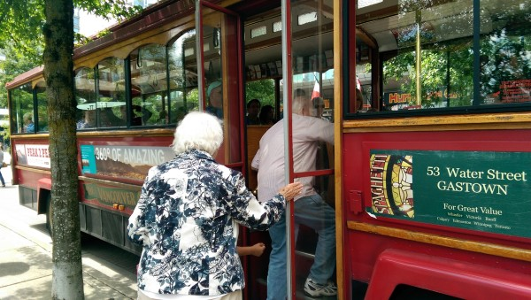 Vancouver Trolley Company - Hop-On, Hop-Off Tour Bus