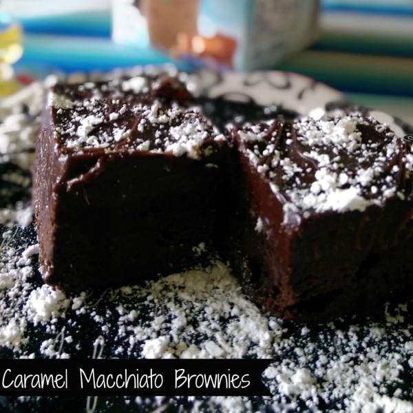 International Delight Caramel Macchiato Brownies w Text