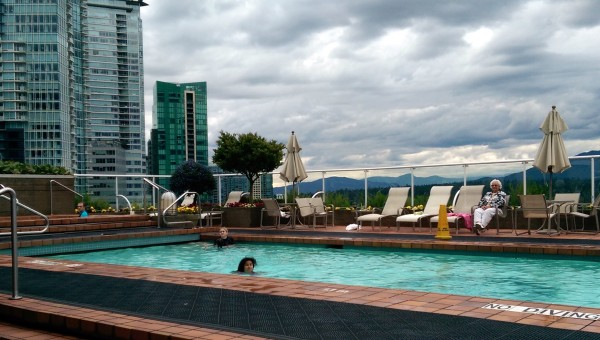 Pool at Pan Pacific Vancouver Canada