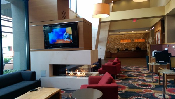 Lobby of Residence Inn Downtown, Vancouver Canada