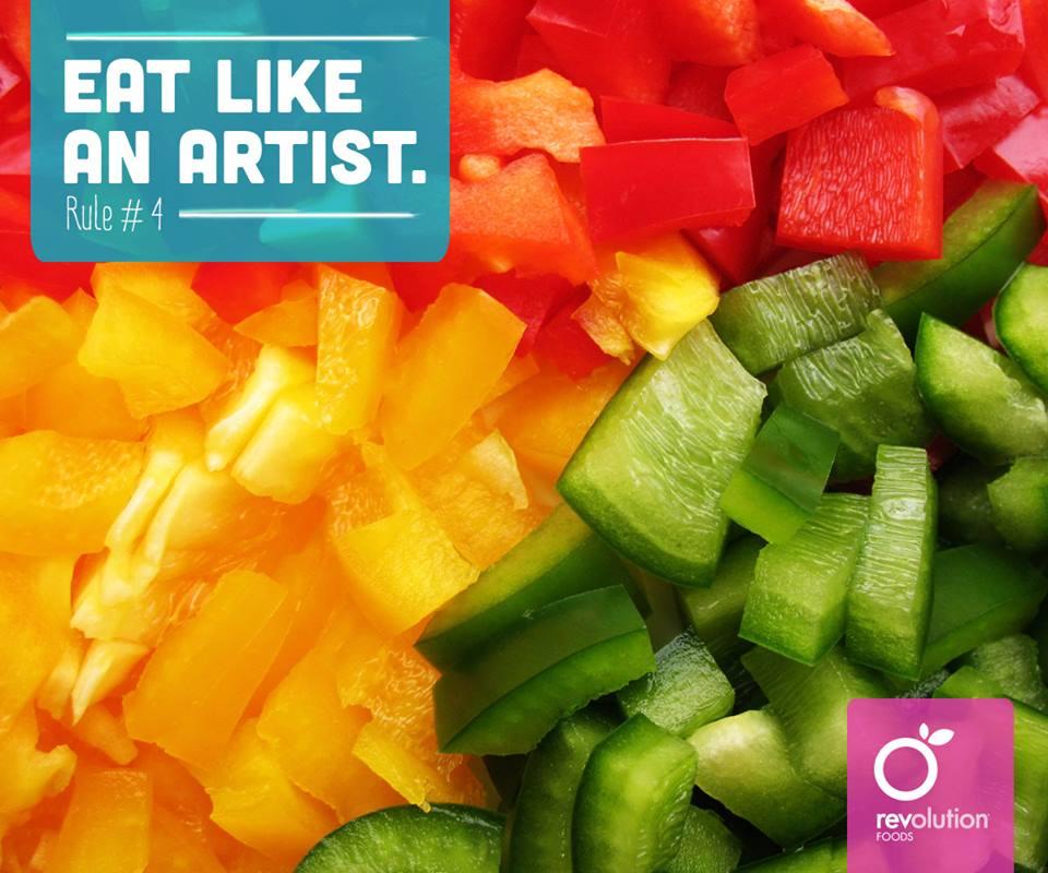 eat like an artist