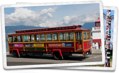 vancouver canada trolley tours hop on hop off