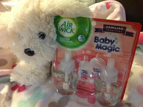 Air Wick-Familiar Favorites-Baby Magic-Puppy