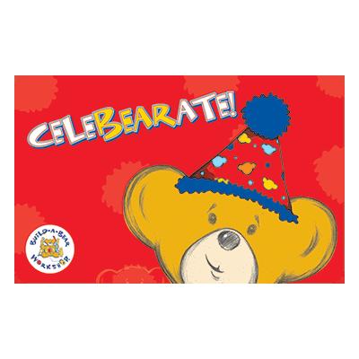 Build A Bear Gift Card