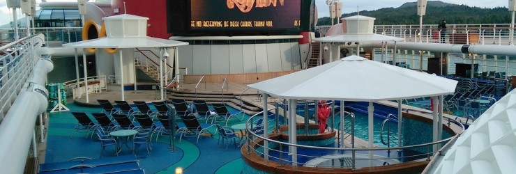 #DisneyCruise-#Alaska-Disney Wonder-Deck