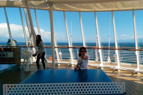 #DisneyCruise-#Alaska-Disney Wonder-Ping Pong