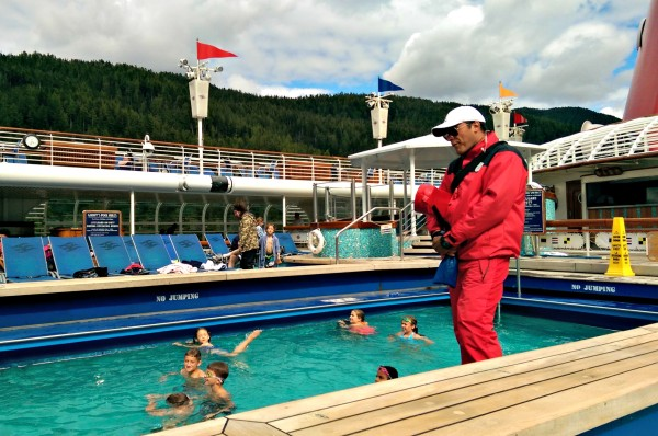 #DisneyCruise-#Alaska-Disney Wonder-Pool