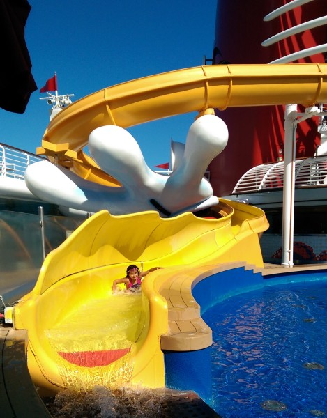 #DisneyCruise-#Alaska-Disney Wonder-Slide