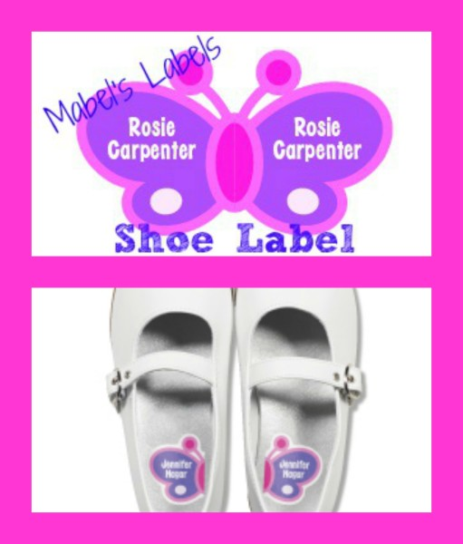 Mabel's Labels Shoe Label Collage
