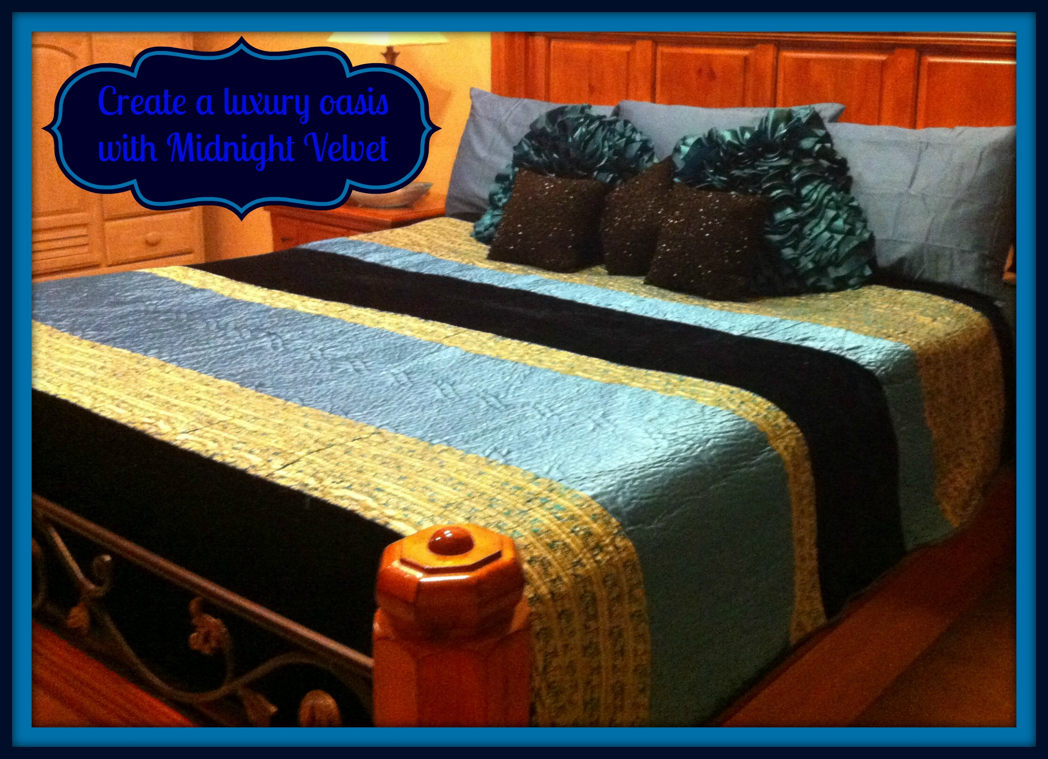 Giveaway Midnight Velvet Bedding Step Up Your Style And Add