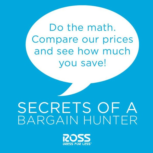 ross dress for less compare prices