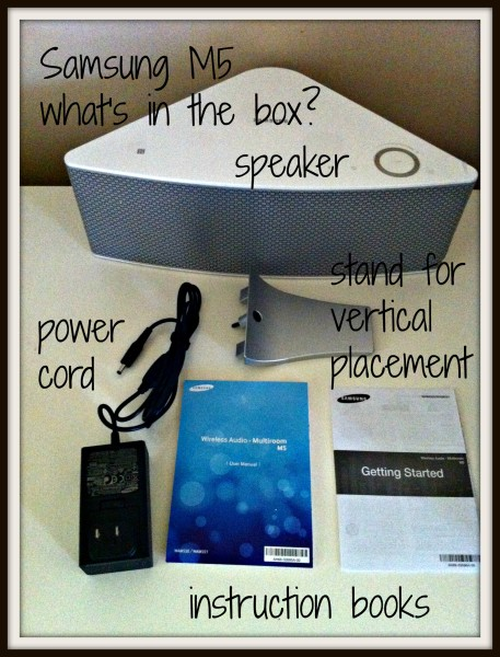 @BestBuy-#AudioFest-August-Samsung M5-Whats In Box