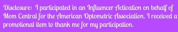 Disclosure American Optometric Association