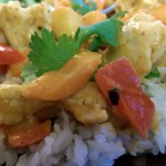 InnovAsian Lemongrass Kitchen Red Curry Chicken Closeup