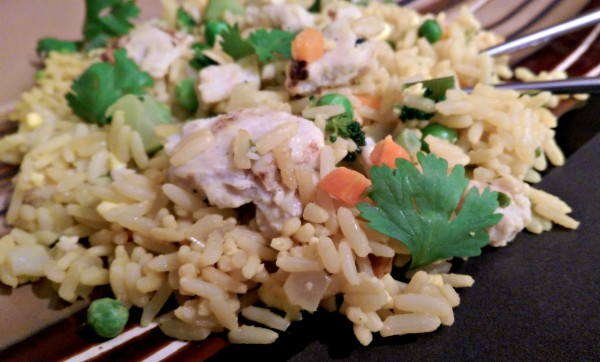 InnovAsian Thai Style Chicken Fried Rice Closeup