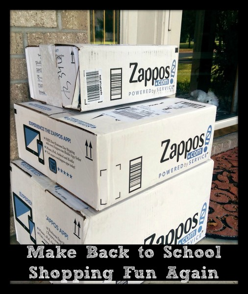 #ZapposStyle #MC #Sponsored Boxes At Door