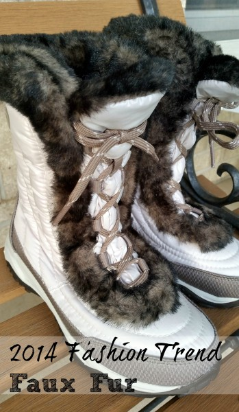 #ZapposStyle #MC #Sponsored Faux Fur Boots