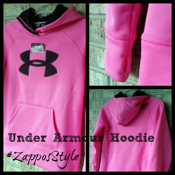 #ZapposStyle #MC #Sponsored Under Armour Hoodie Collage