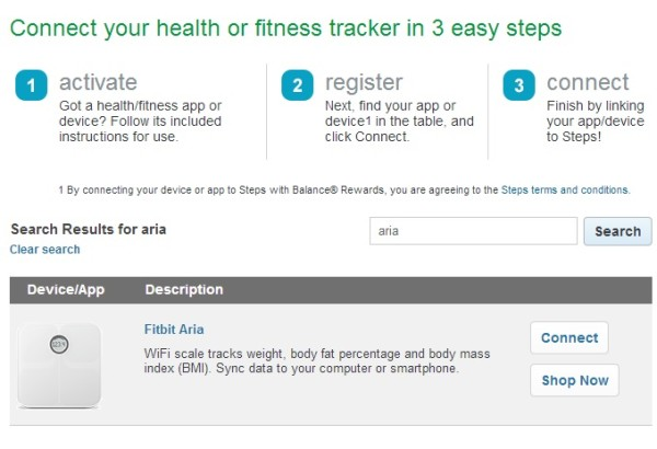 #cbias #Balance Rewards Screenshot Fitbit Aria 4