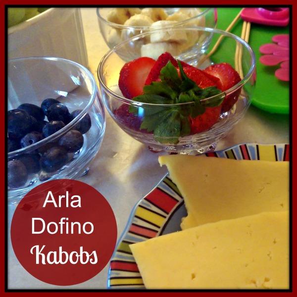 #HavartiParty Arla Dofino Fruit Skewer #MC #Sponsored Ingredients