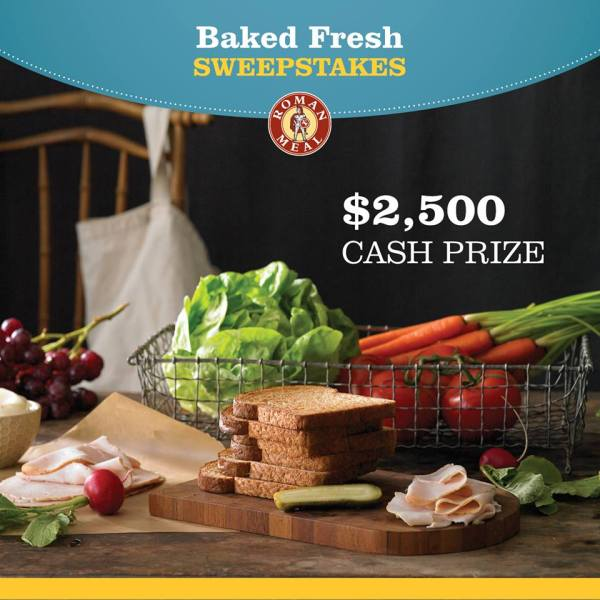 Roman Meal Baked Fresh Sweepstakes