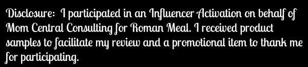 Roman Meal Disclosure