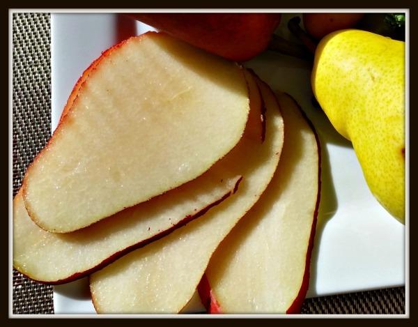 Roman Meal-#MC-Pear Slices-Framed