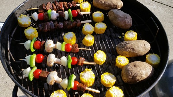 Tailgate Recipe Beef Kabob Kingsford Charcoal Walmart Beef Whole Grill