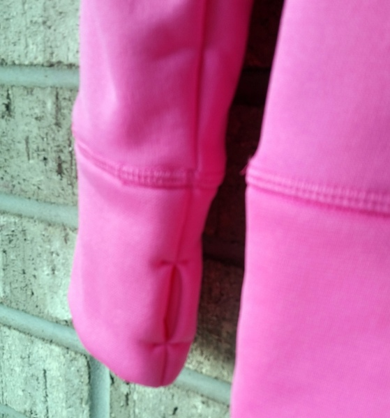 #ZapposStyle #MC #Sponsored Under Armour Hoodie Arm Closeup