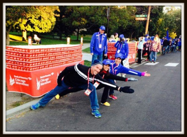 2014 Chicago Marathon Water Stop