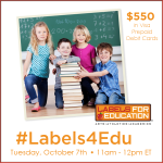 #Labels4Edu-Twitter-Party-10-7-11amEST