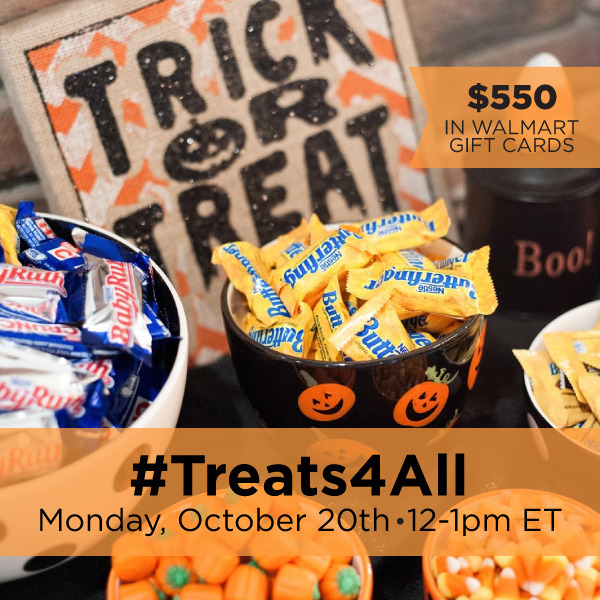 #Treats4All-Twitter-Party-10-20, TwitterParty, #shop, sweepstakes on twitter