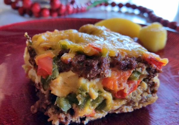 Closeup #SeasonedGreetings #CollectiveBias Tabasco Christmas Strata Recipe (41)