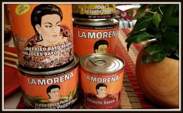 La Morena Cans Frame