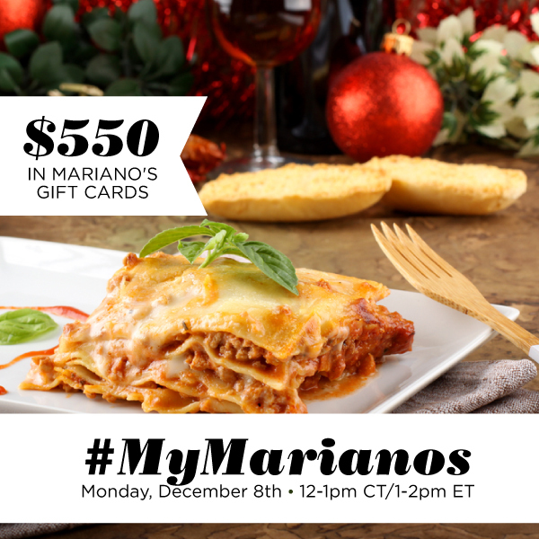 #MyMarianos-Twitter-Party-12-8-1pmEST-B