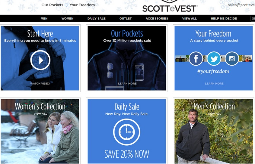Scottevest discount coupons