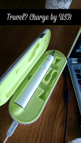 philips sonicare charging by usb