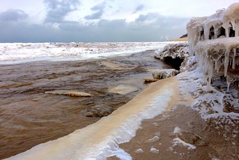Lake Michigan Shelf Ice