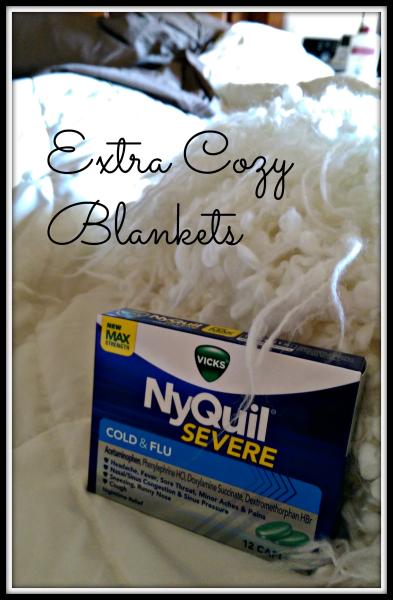 Vicks Extra Cozy Blankets