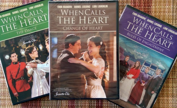 When Calls the Heart (3) DVDs