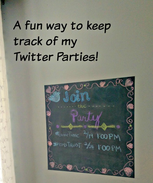 Colorhouse Chalkboard A Fun Way To Keep Track Of My Twitter Parties 2