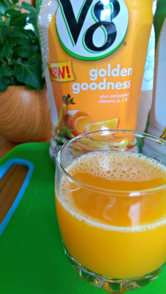 V8-New-Vegetable-Juice-golden-goodness-#cbias